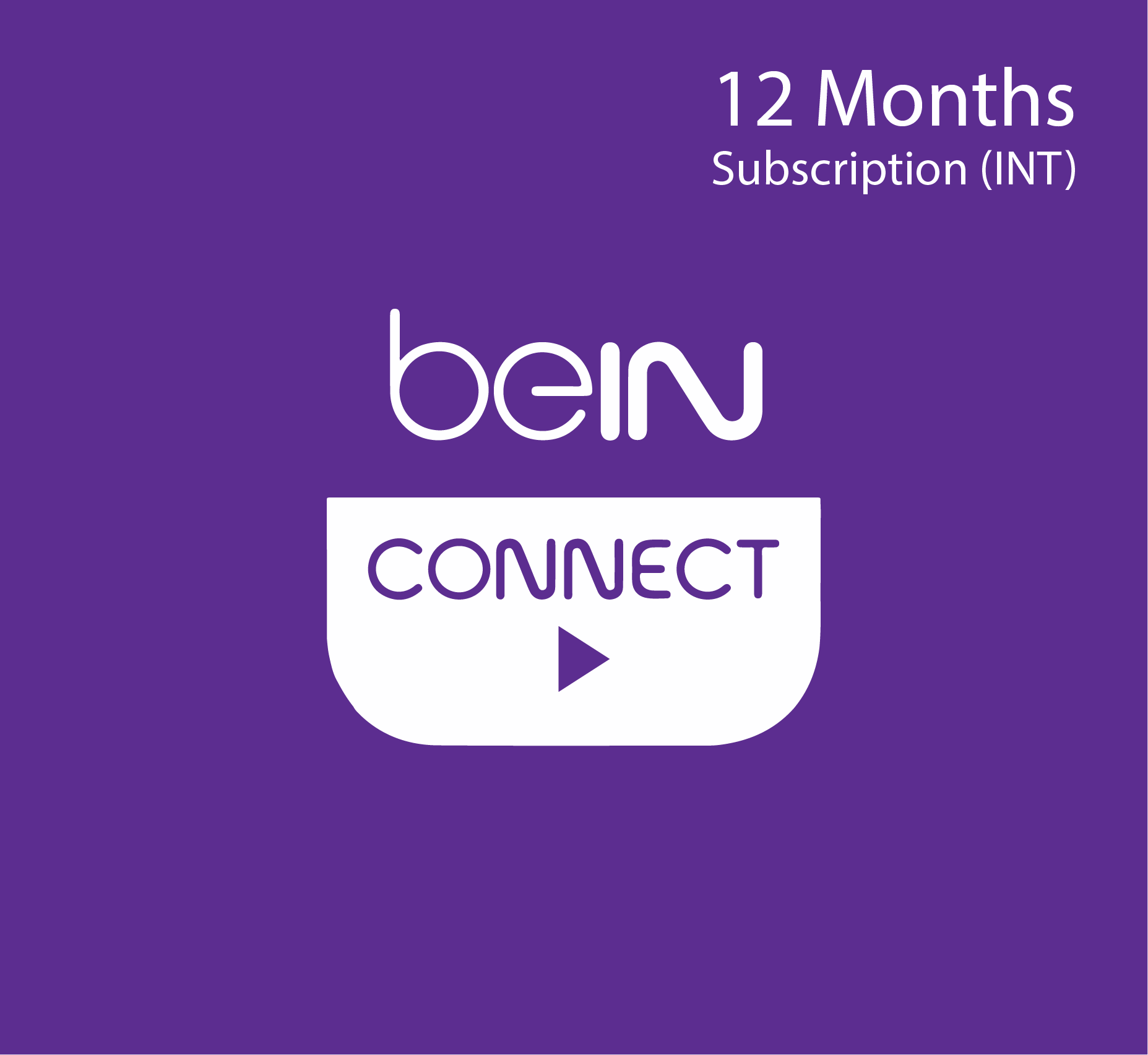 beIN Connect subscription - 12 Months (INT)