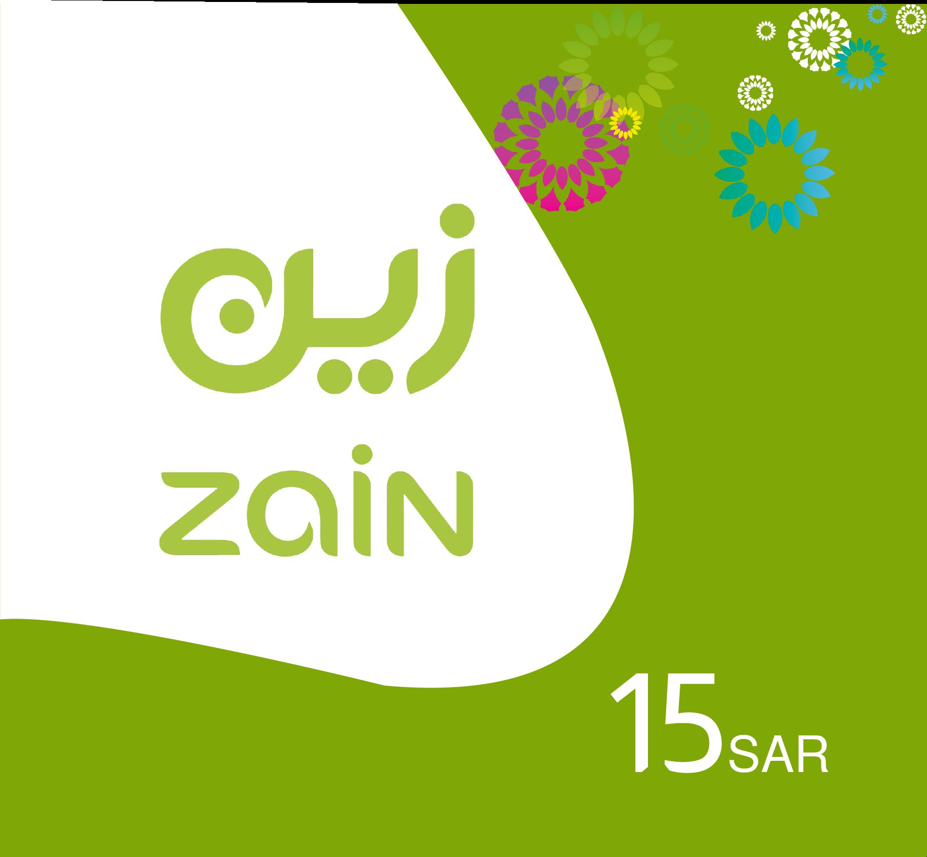 Zain Recharge Card SR 15