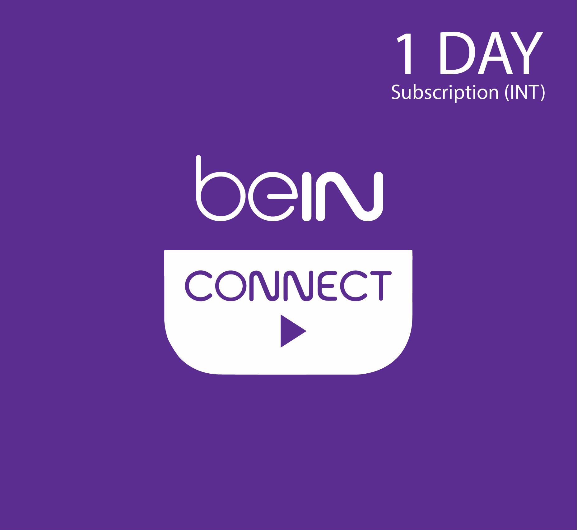 beIN Connect Subscription - 1 Day (INT)