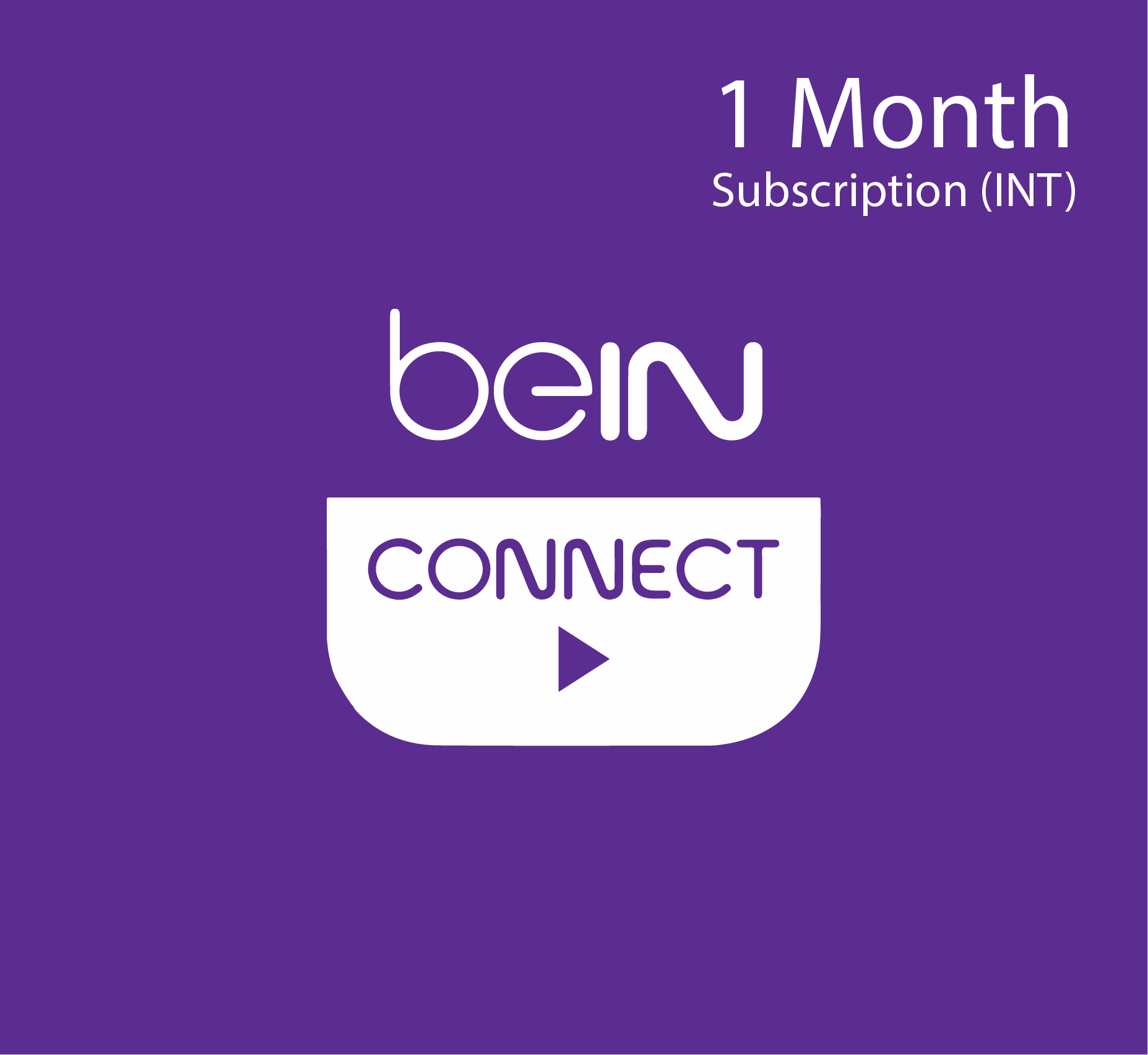 beIN Connect subscription - 1 Month (INT)