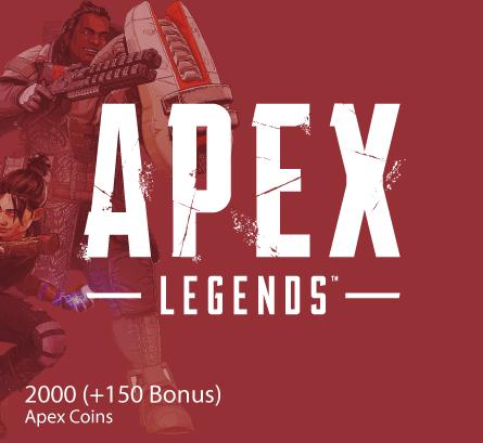 APEX LEGENDS 2000 (+150 Bonus) Apex Coins