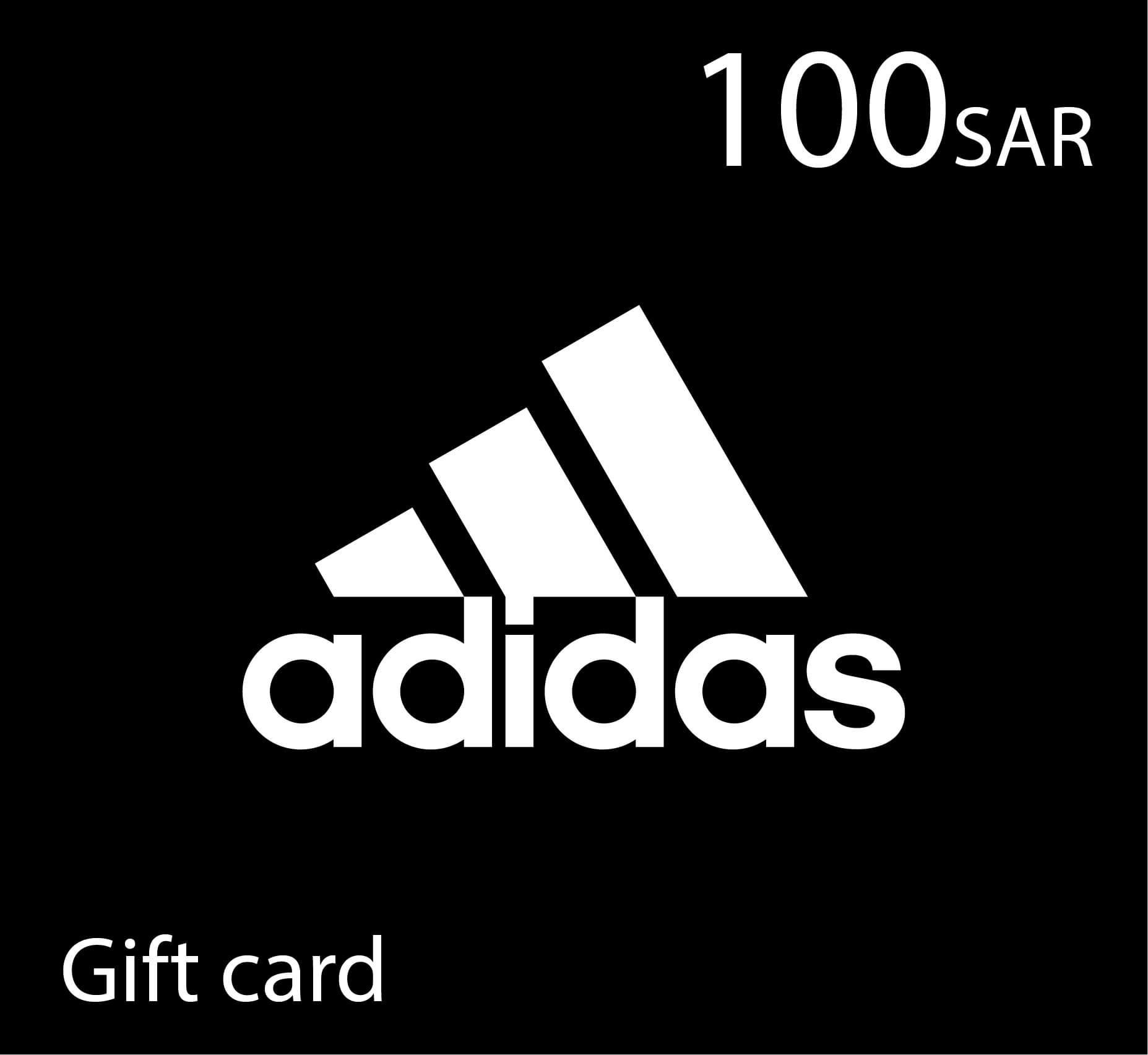 Adidas Gift Card - 100 SAR