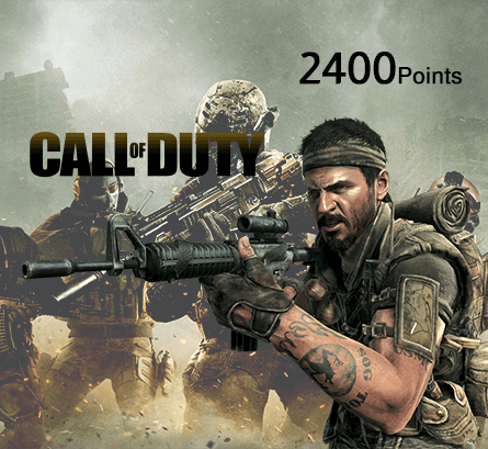 Call of Duty Modern Warfare 2400 Points (Saudi Store)