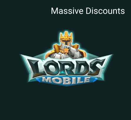 Lords Mobile - Massive Discounts