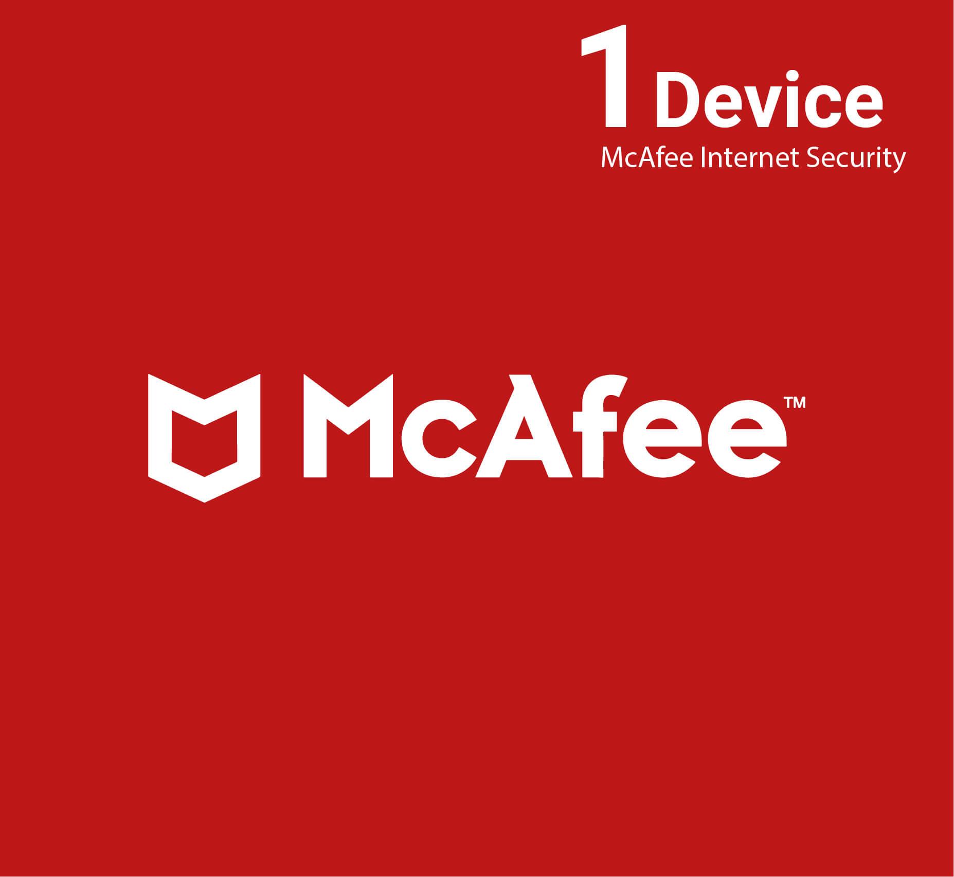 McAfee Internet Security 1 Device