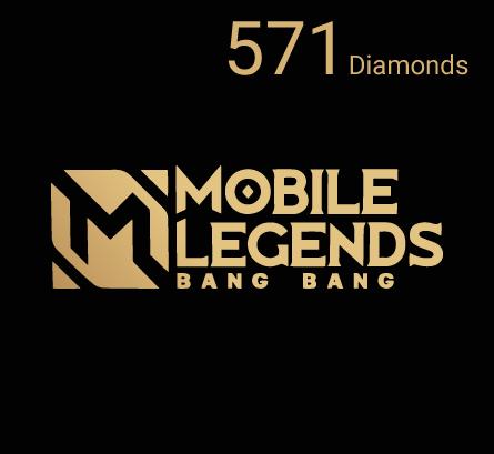 Mobile Legends - 571 Diamonds