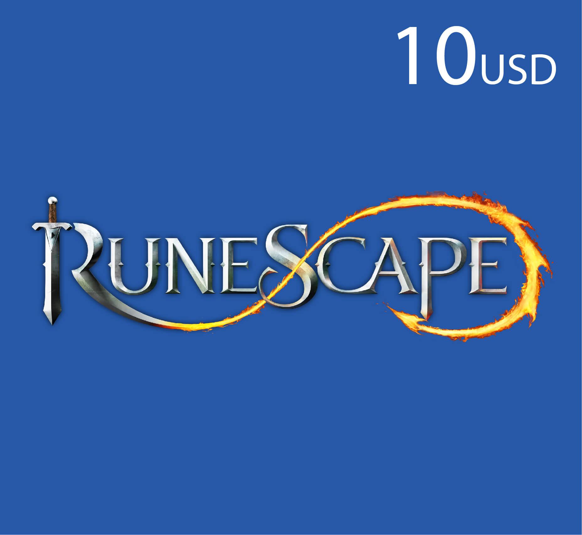 Runescape - $10 (INT)