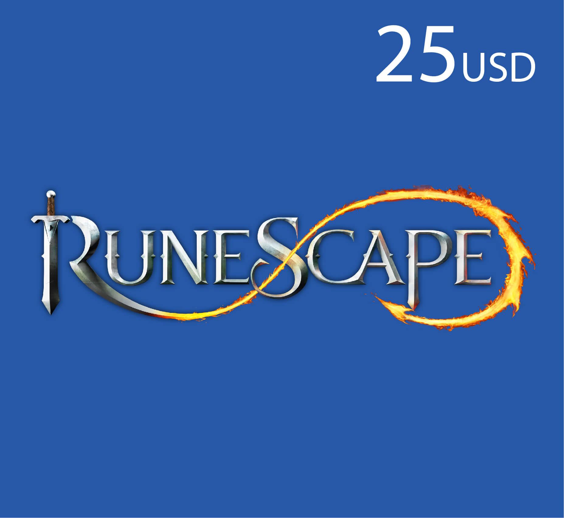 Runescape - $25 (INT)