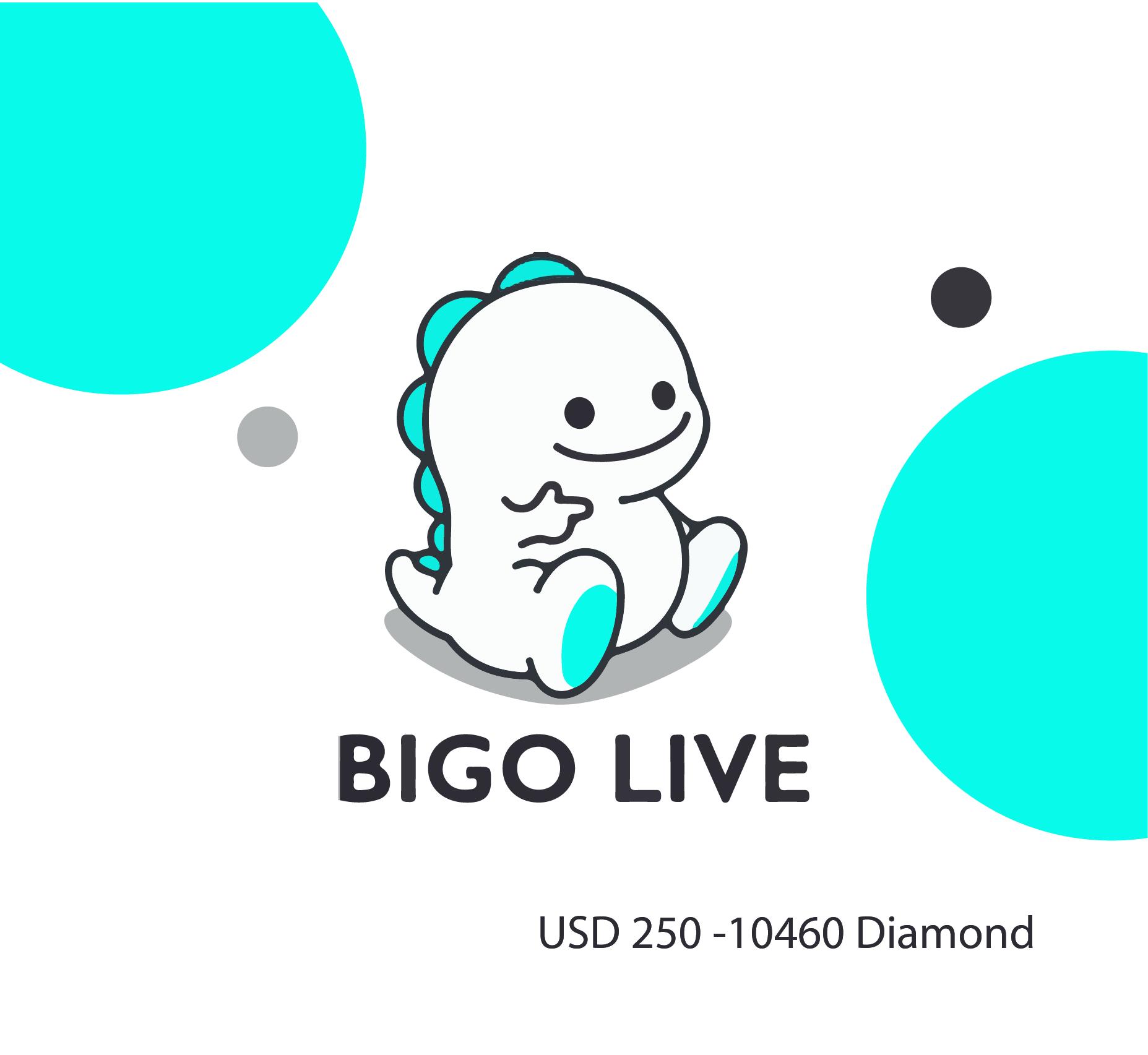Bigo Live 250 USD - 10460 Diamond