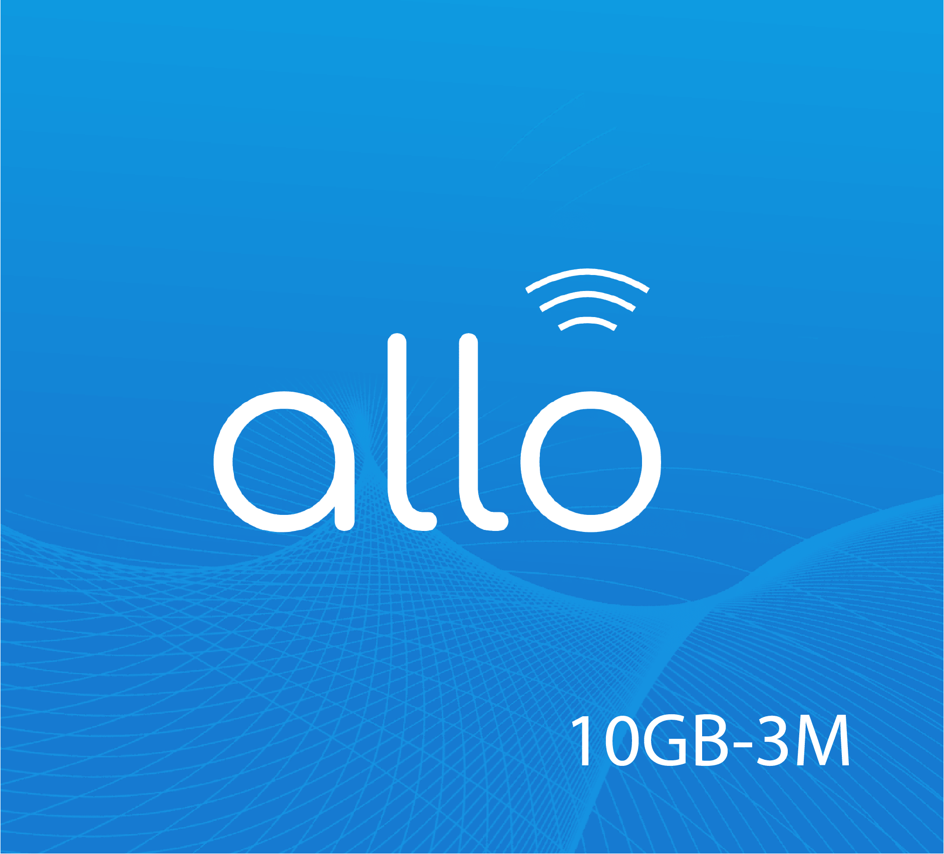 Allo Data Recharge 10 GB - 3 Months