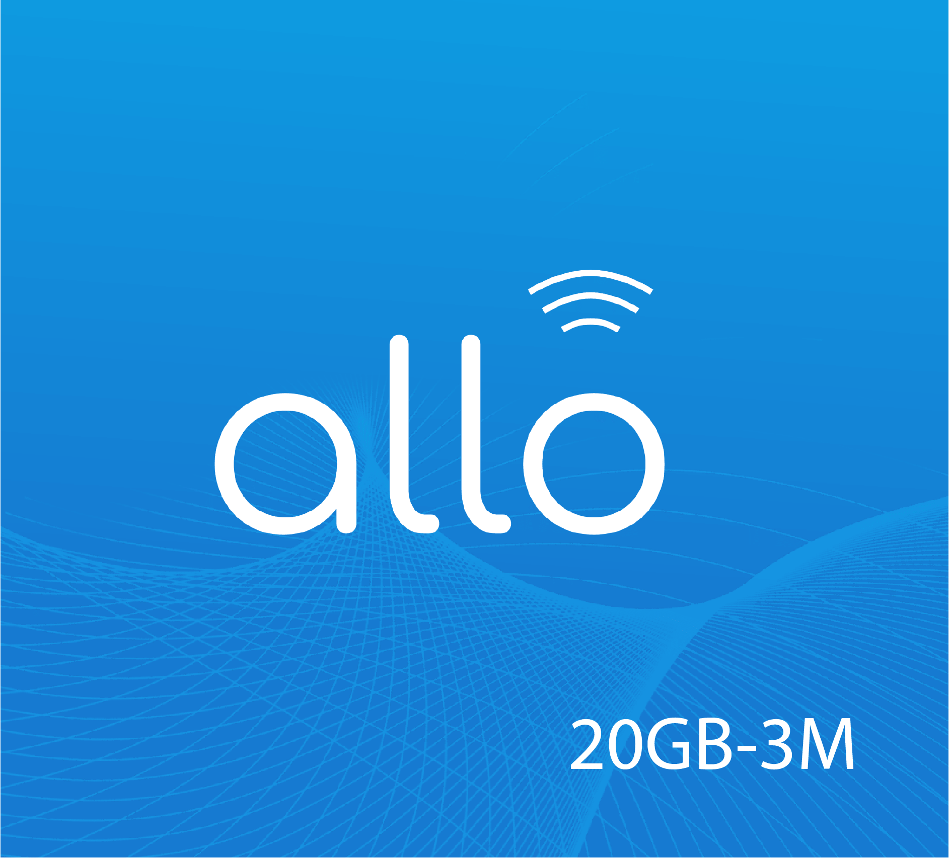 Allo Data Recharge 20 GB - 3 Months