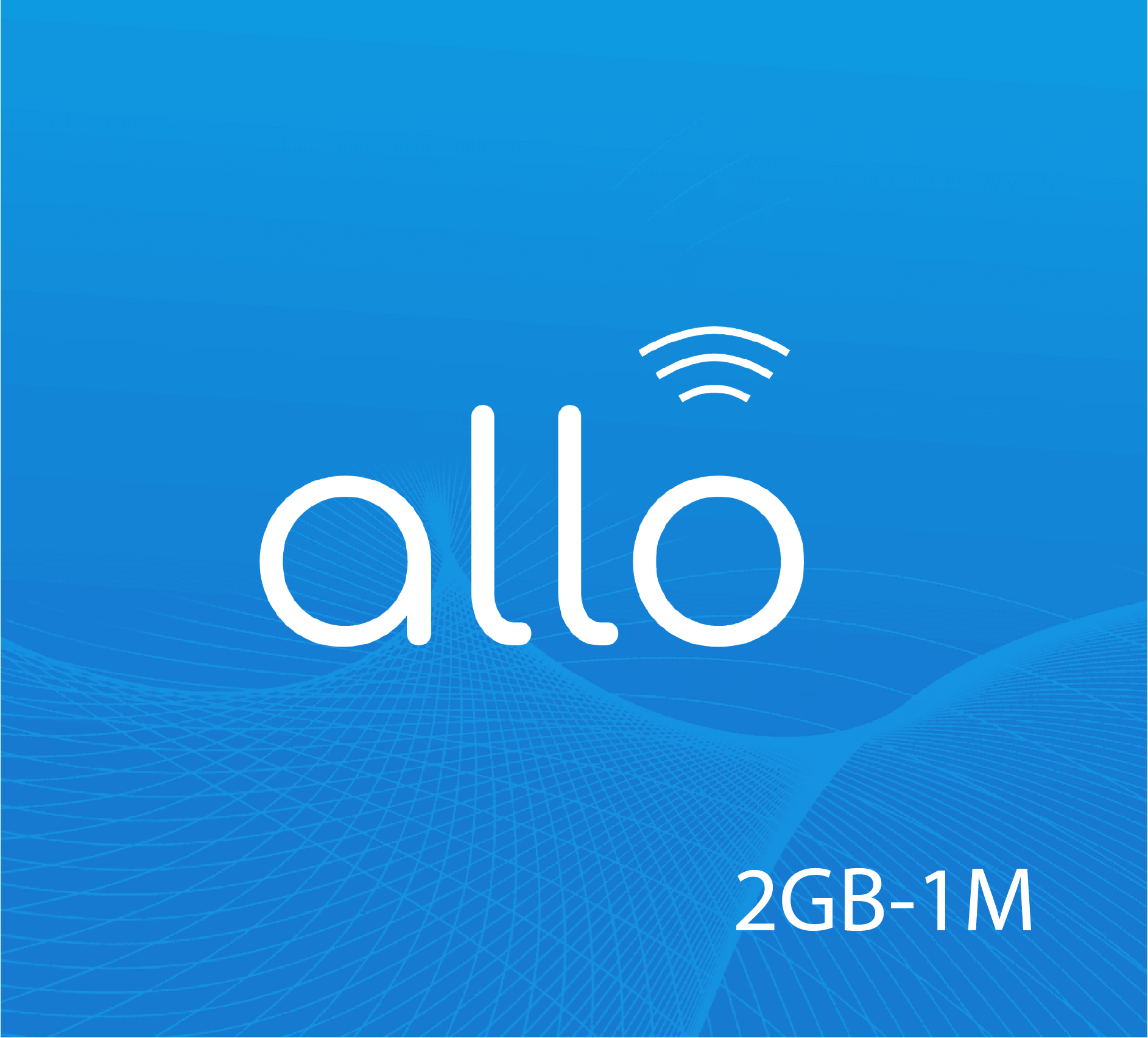 Allo Data Recharge 2 GB - 1 Month