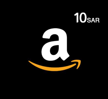Amazon Gift Card - 10 SAR (KSA Store)