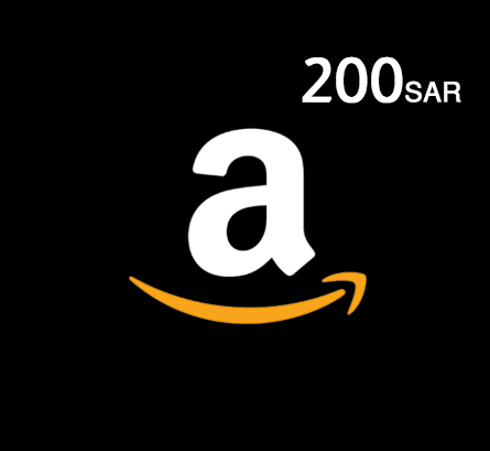 Amazon Gift Card - 200 SAR (KSA Store)