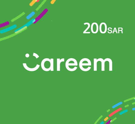 Careem for Customers 200 SAR