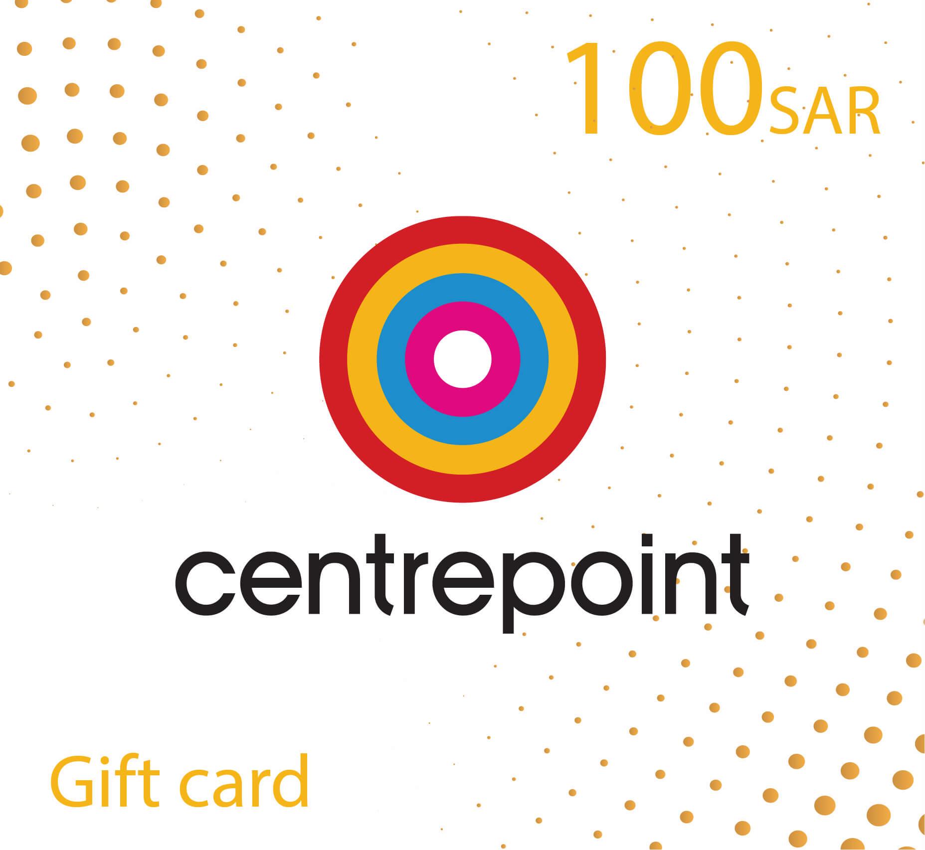 CentrePoint Gift Card - 100 SAR