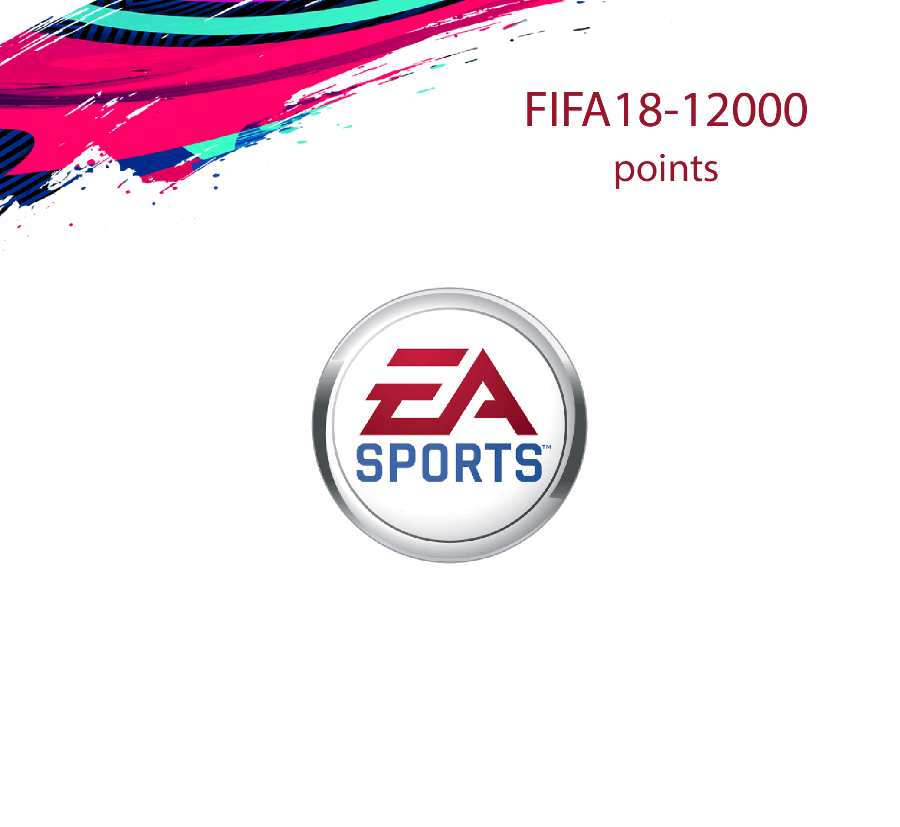 FIFA 18 Ultimate 12000 Points Pack (Saudi Store)