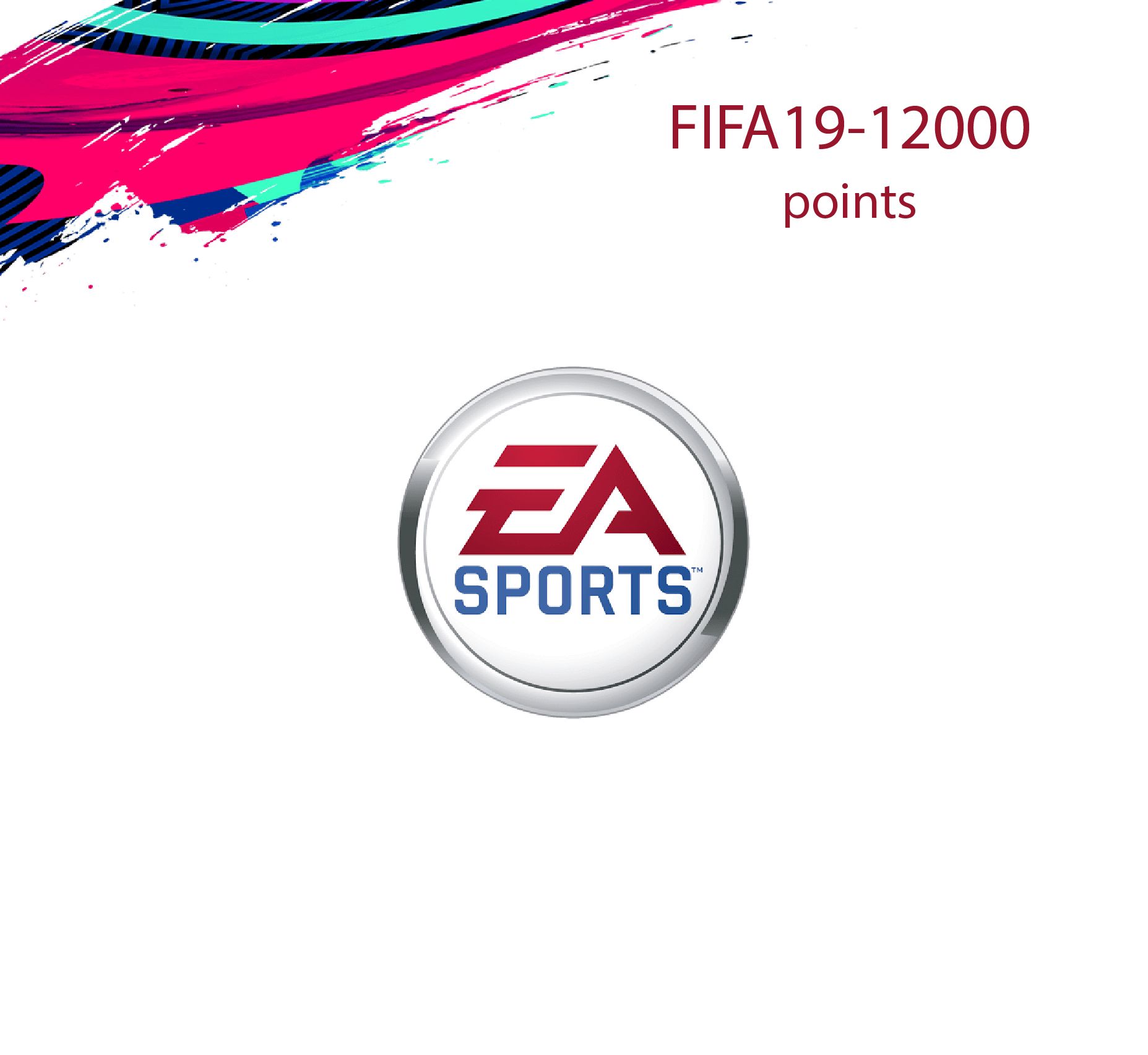 FIFA 19 Ultimate 12000 Points Pack (Saudi Store)