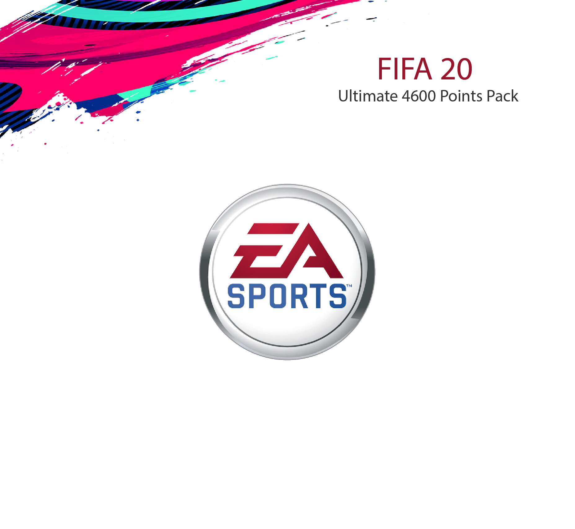 FIFA 20 Ultimate 4600 Points Pack (Saudi Store)