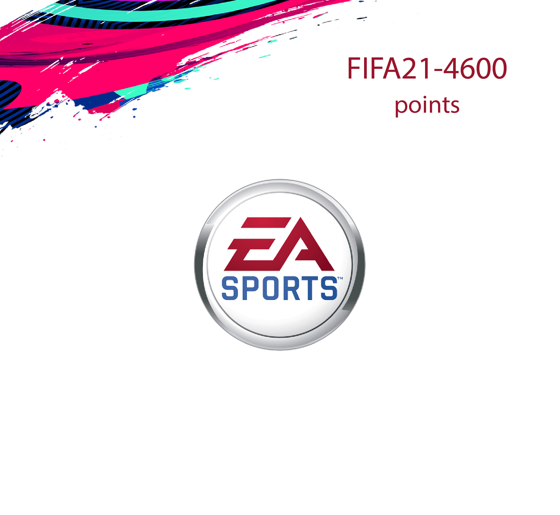 FIFA 21 Ultimate 4600 Points Pack (Saudi Store)