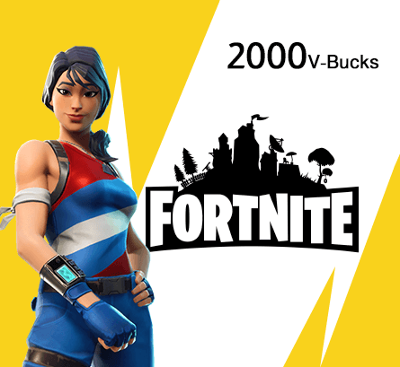 PS4 Fortnite Neon Versa Pack + 2000 V- Bucks (US Store)