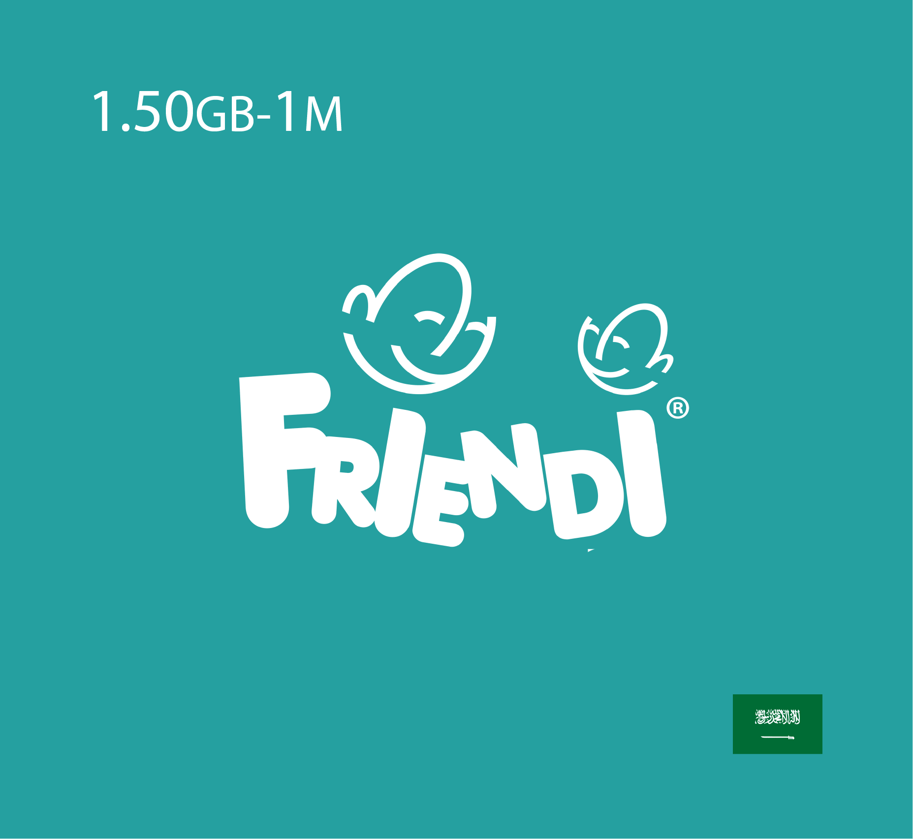 Friendi Data Recharge 1.50 GB - 1 Month