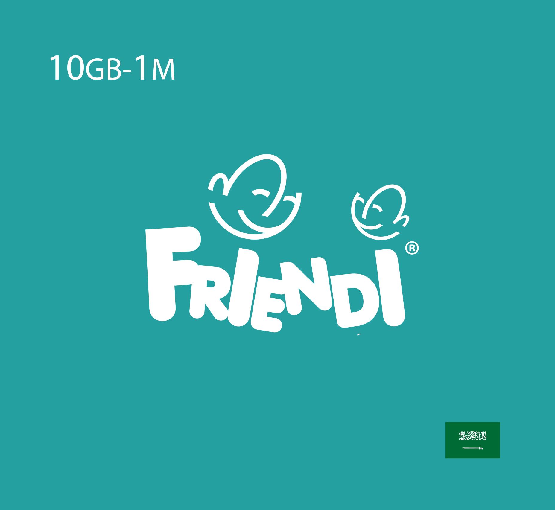 Friendi Data Recharge 10 GB - 1 Month