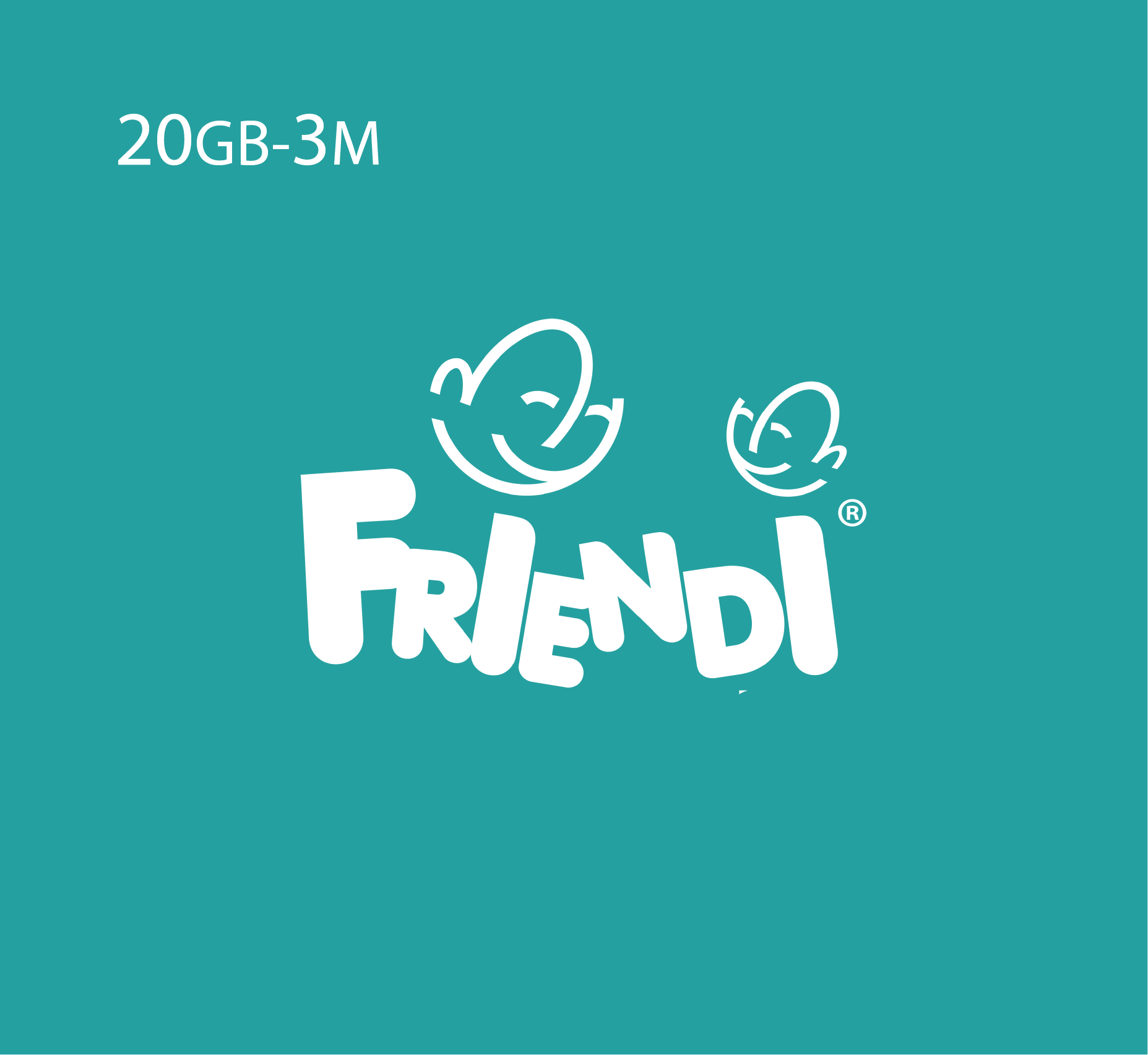 Friendi Data Recharge 20GB - 3 Months