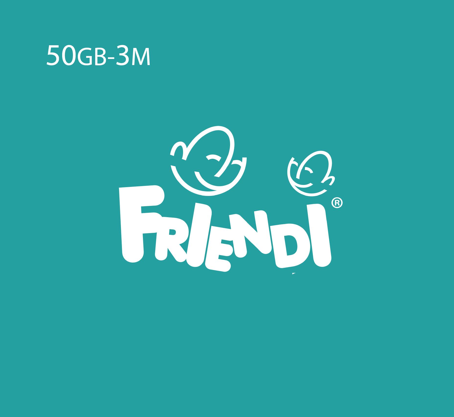 Friendi Data Recharge 50 GB - 3 Months