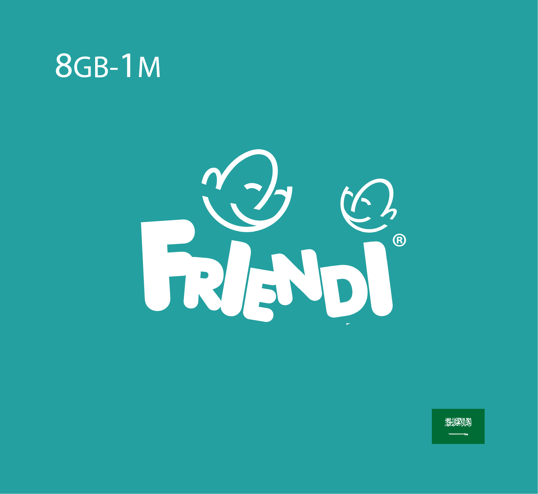 Friendi Data Recharge 8 GB - 1 Month