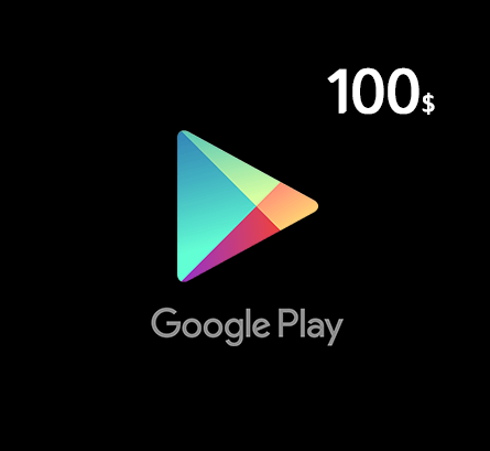 Google Play Gift Card $100 - US Store