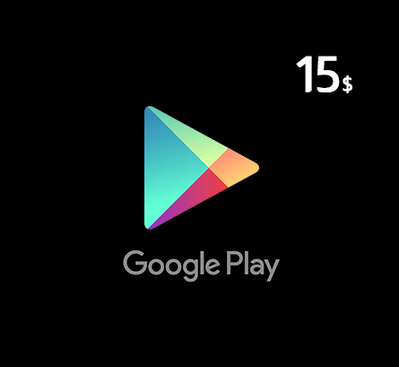 Google Play Gift Card $15 - US Store