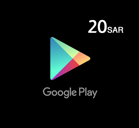Google Play Gift Card 20 SAR - Saudi Store