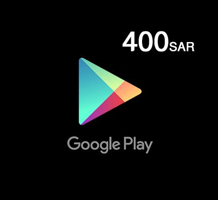 Google Play Gift Card 400 SAR - Saudi Store