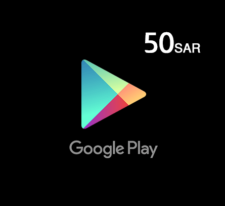 Google Play Gift Card 50 SAR - Saudi Store