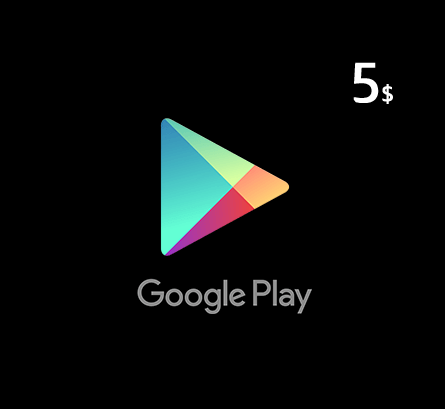 Google Play Gift Card $5 - US Store