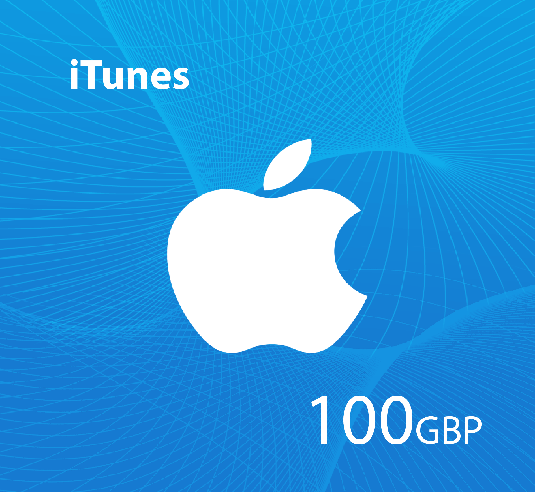 iTunes Gift Card 100 GBP  - UK Store