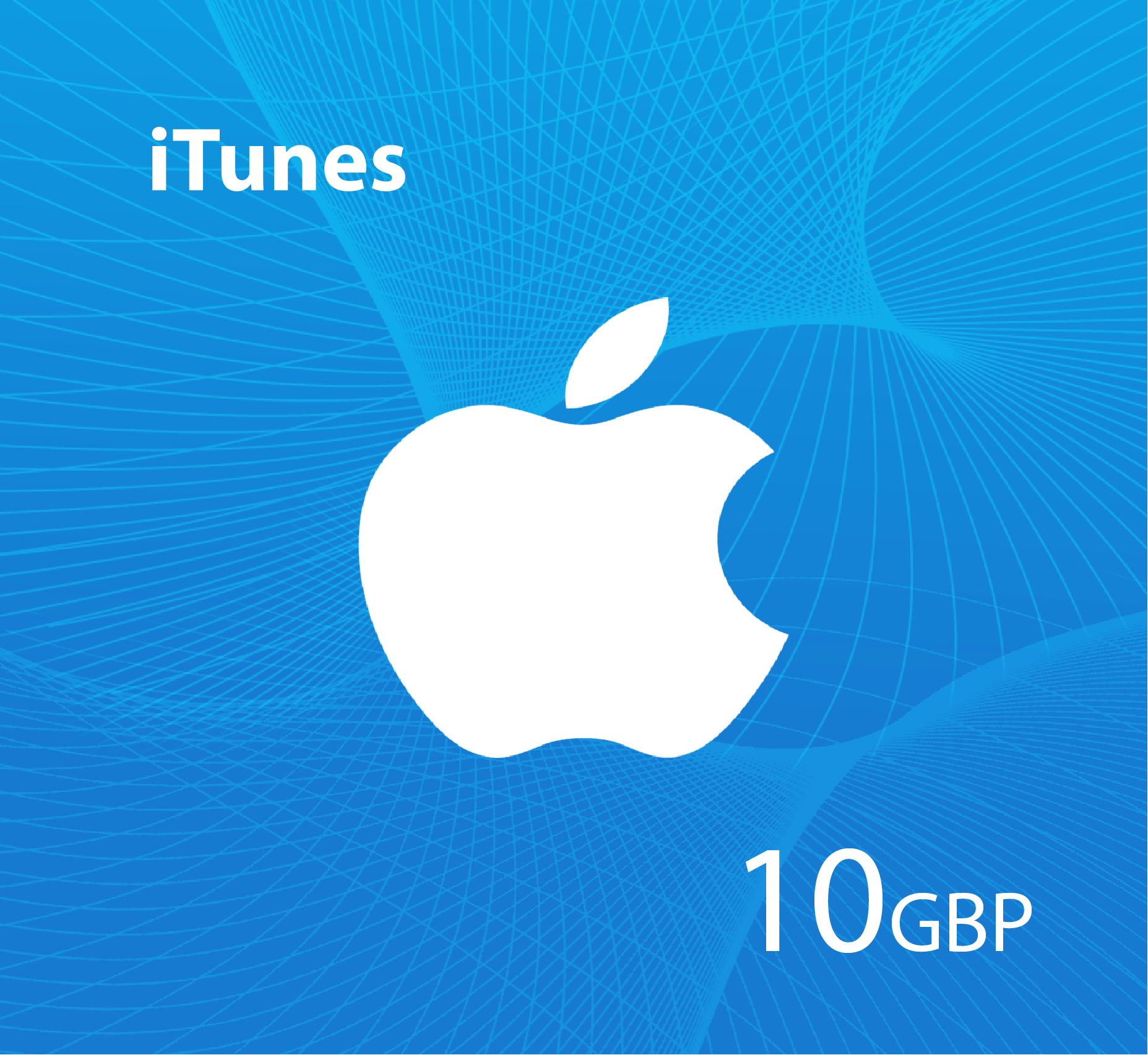 iTunes Gift Card 10 GBP  - UK Store