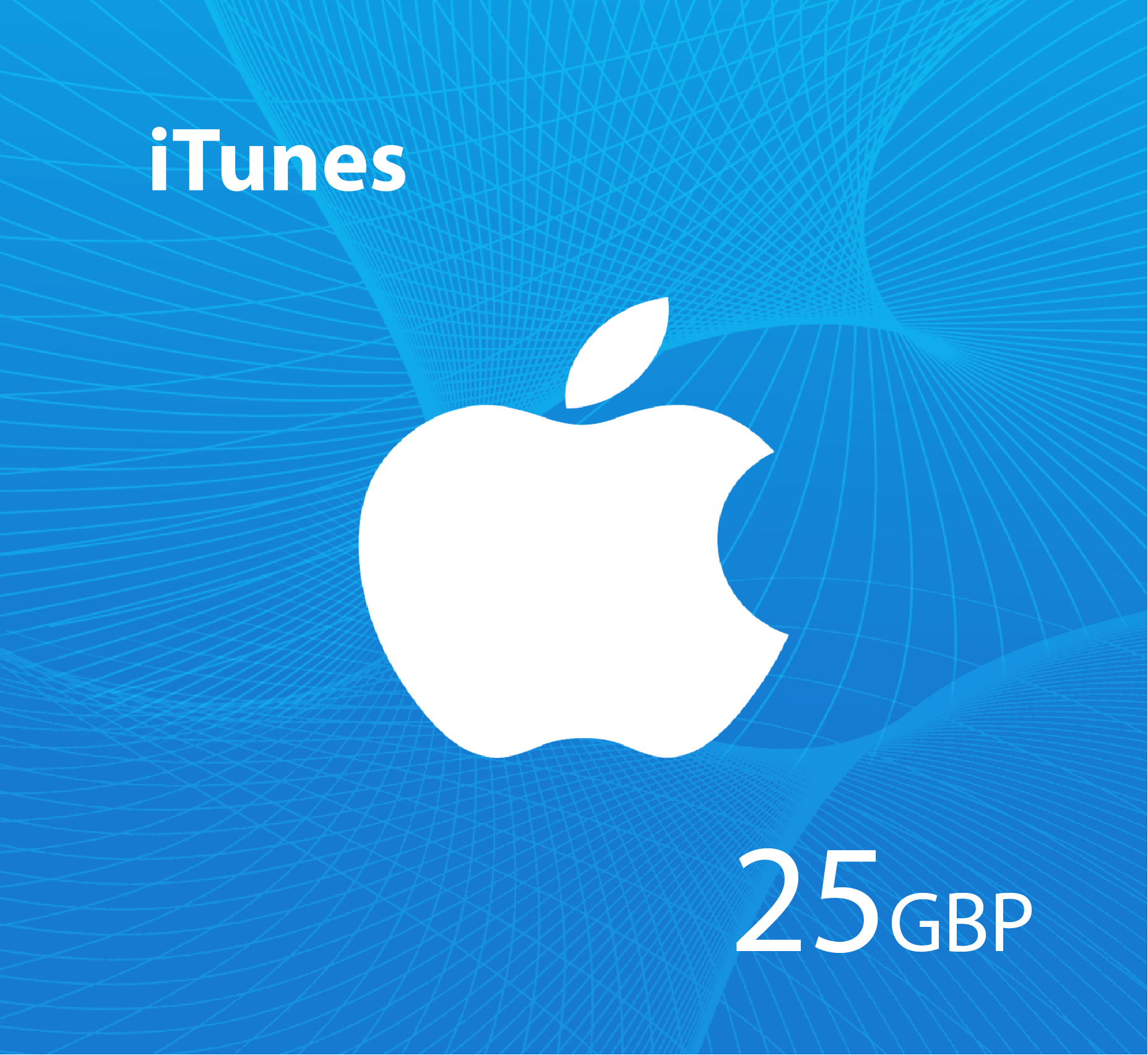 iTunes Gift Card 25 GBP  - UK Store