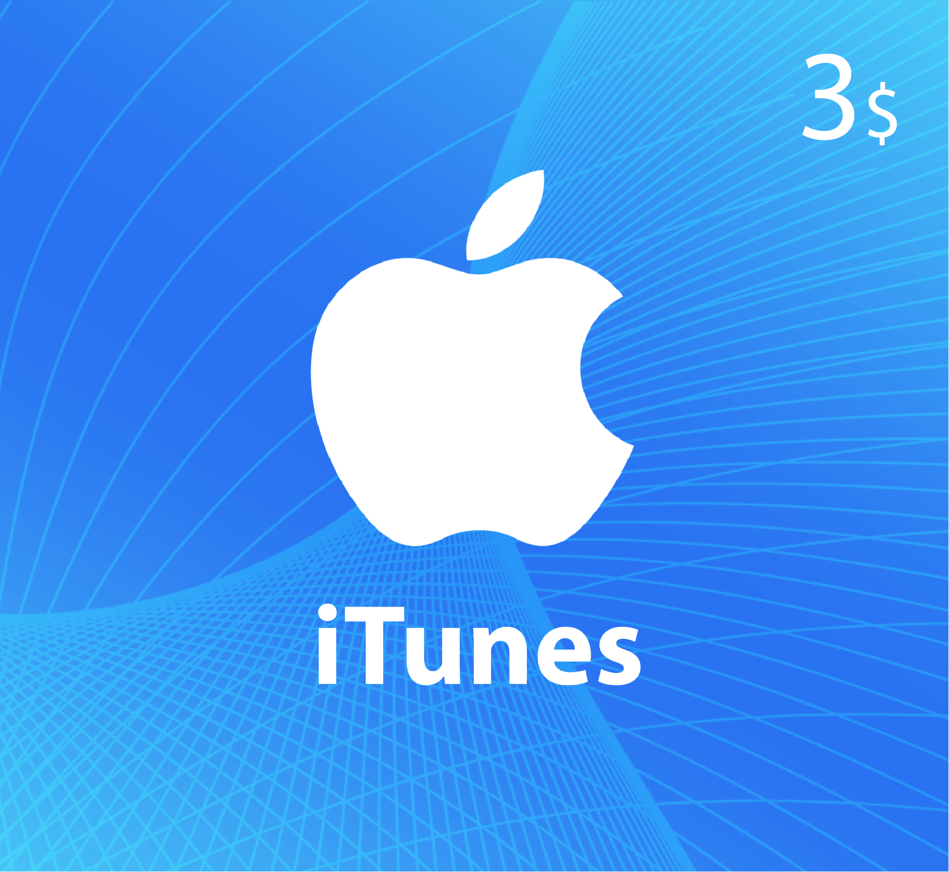 iTunes Gift Card $3 - US Store
