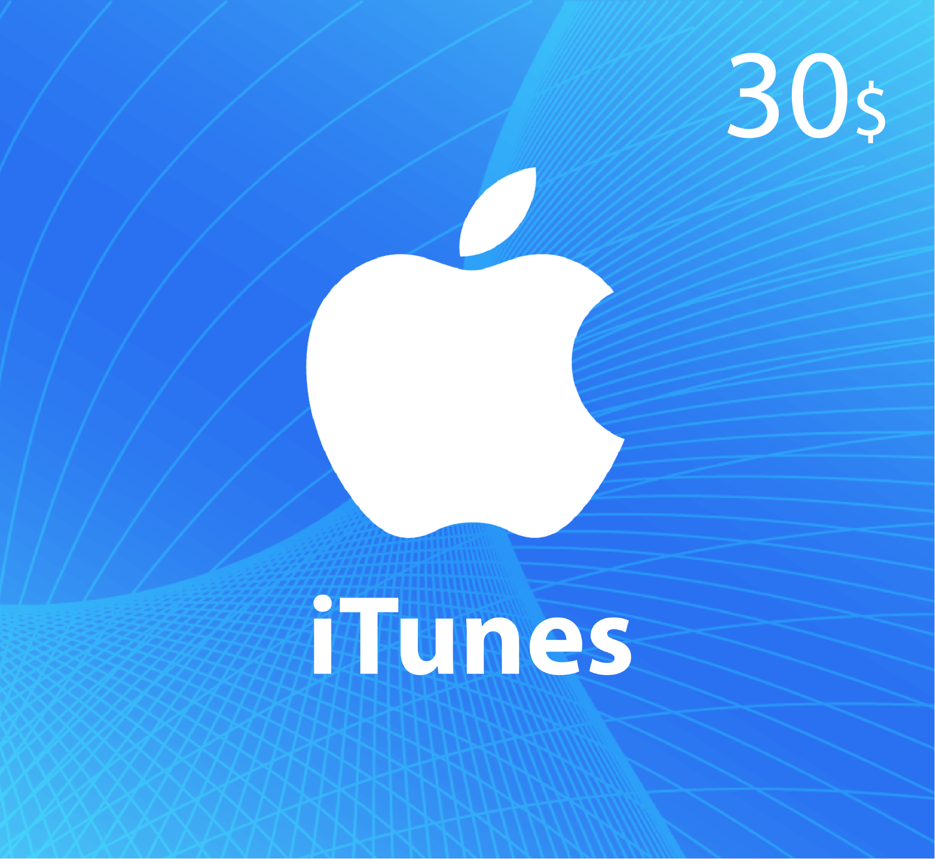 iTunes Gift Card $30 - US Store