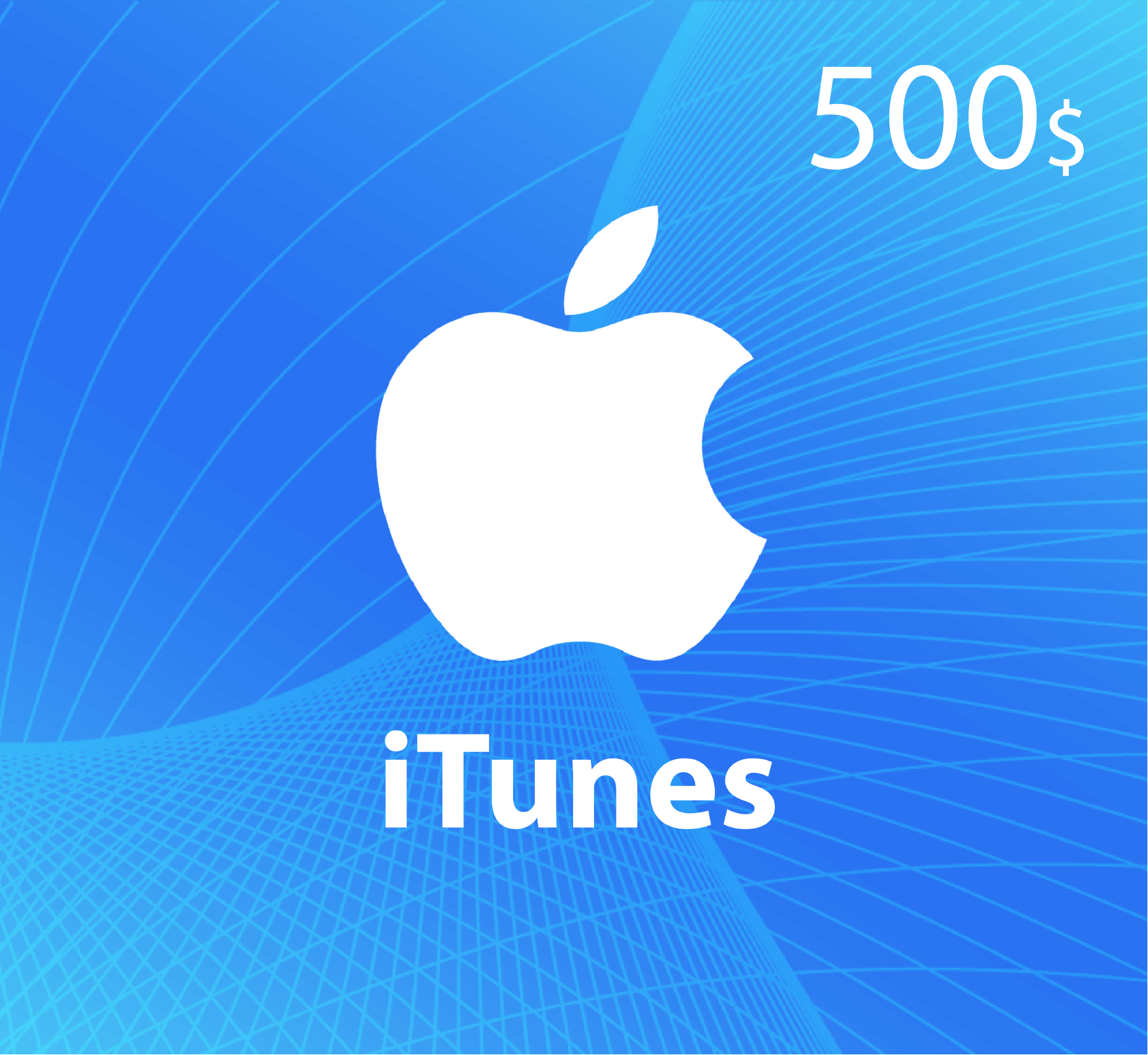 iTunes Gift Card $500 - US Store