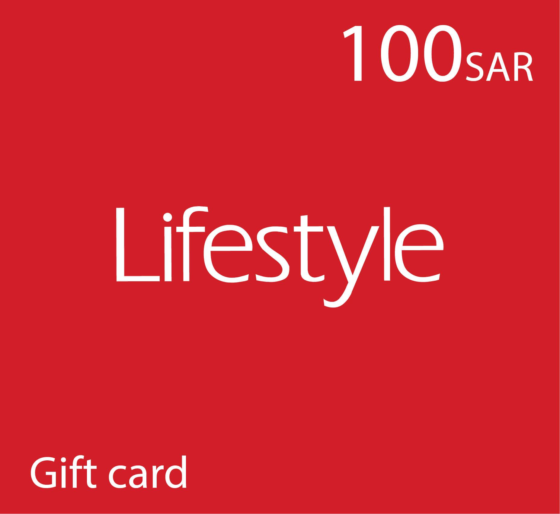 Life Style Gift Card - 100 SAR
