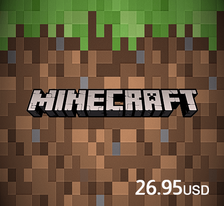 Minecraft Voucher 26.95 USD
