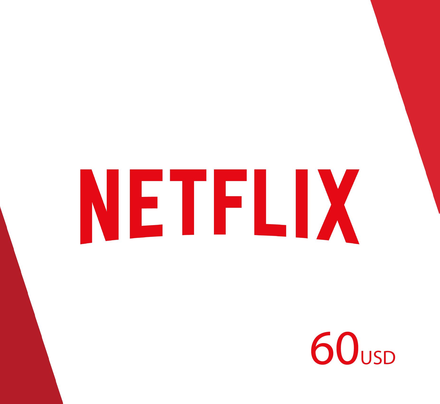 Netflix 60 USD - (US Store)