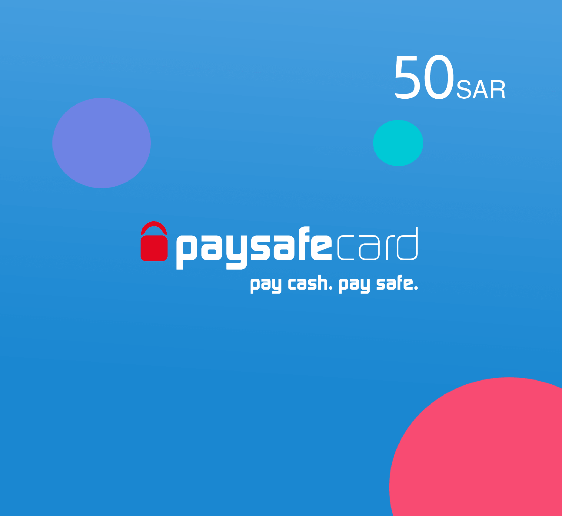 Paysafe card 50 SAR