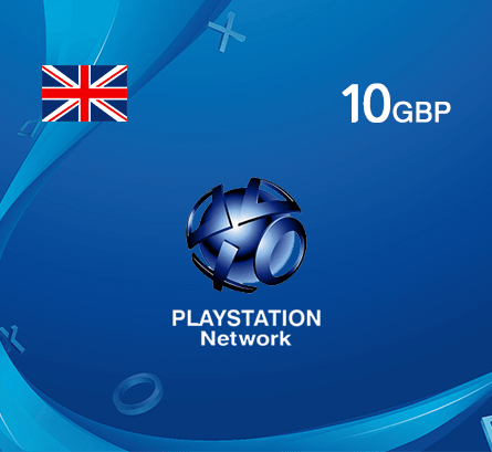 Playstation GBP 10 - UK store