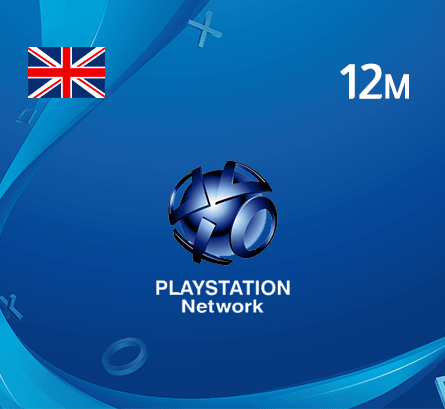 Playstation 12 Months - UK Store