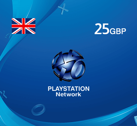 Playstation GBP 25 - UK store