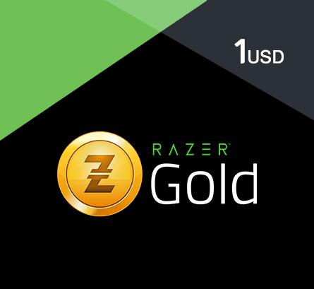 Razer Gold - $1 (Global) - TopUp